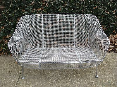 Vintage Woodard Mid Century Modern Steel Wire Seat Pick Up Only No Shipping