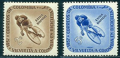 Columbia 1957 Cycling,Sports,Mi.808,MNH