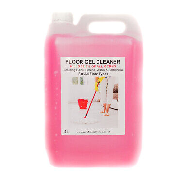 Bubble Gum Floor Gel Cleaner 5L Extra Thick UK Brand