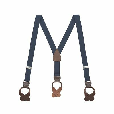 Y-Back Button Suspenders for Kids - 1-Inch Wide
