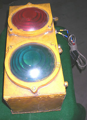 Canadian Pacific Railway CPR Light Lantern Lenses Railroad Locomotive WORKING!!