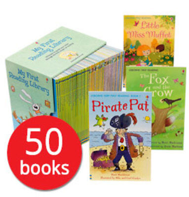 My First Reading Library Collection - 50 Books