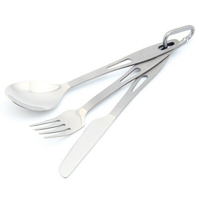 TOAKS SLV-02 Titanium tableware Urltra-Light camping titanium fork spoon knife