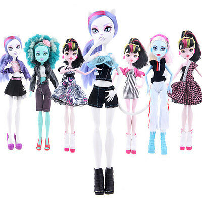 Monster High School Strange High Doll Solid Doll Animation Clothing Accessories