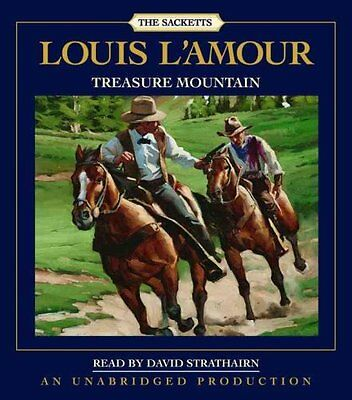 Treasure Mountain by Louis L'Amour 9780739342183 (CD-Audio, 2008)