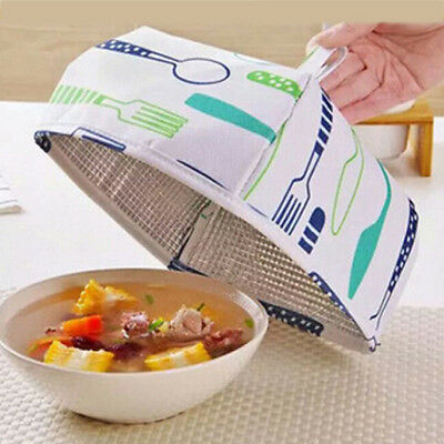 Square Flodable Screen Insulated Food Cover Food Warmer Protect Tent Kitchen