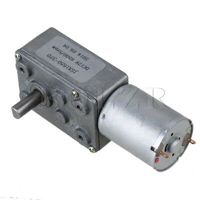 DC 12V 5RPM Electric Power High Torque Turbo Reducer Motor Right Angle Gear