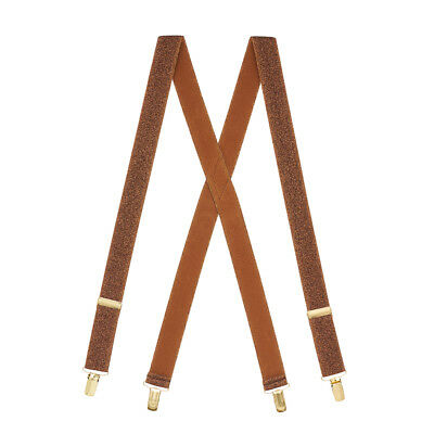 Glitter Suspenders for Kids - 1.25-Inch Wide (2 Sizes, 7 Colors)