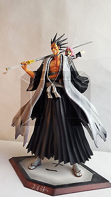 NEW BLEACH-KenPachi Zaraki-Kusajishi YaChiru-Resin Statue figure Limited sale