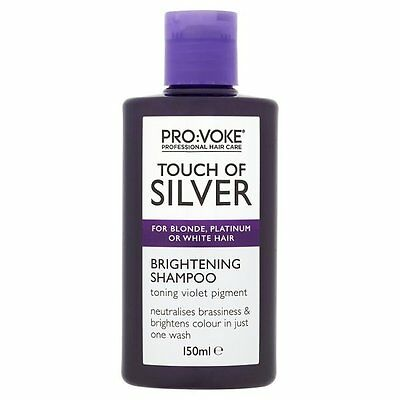 Touch Of Silver Brightening Shampoo For Blonde, Platinum Or White Hair 150ml