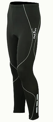 Cycling Tights Winter Thermal Cold Wear Padded Legging Cycling Trouser