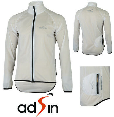 Men's Water/ Wind Proof Cycle Running Outdoor Jacket Lightweight Reflective