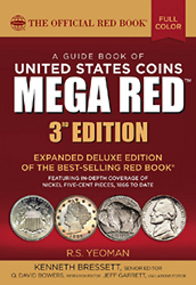 PRE-SALE 2018 Red Book MEGA, Guide Book of U.S. Coins Deluxe 3rd Edition