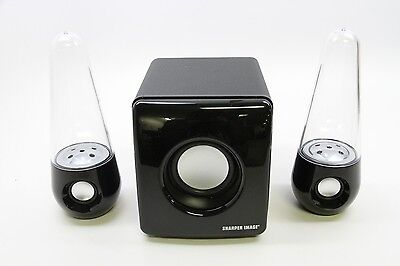 Sharper Image Water Lights Bluetooth Wireless Speaker Sbt5002
