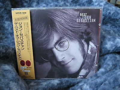 "John Sebastian  ""the Best Of John Sebastian"" Cd Japan From The Lovin' Spoonful"