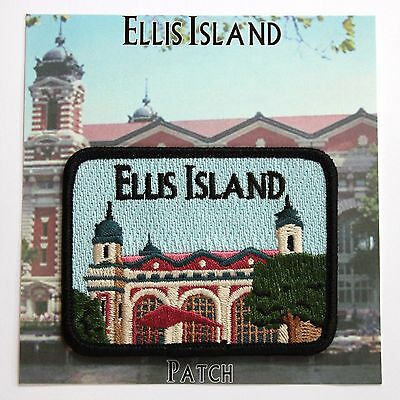 Official Ellis Island National Monument Souvenir Patch New York City NYC