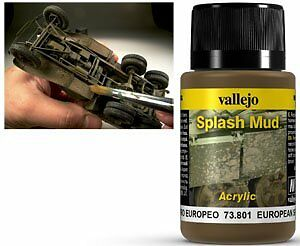 VALLEJO WEATHERING Effects Splash Mud Brown 40 ml 11,25 PER 100 ML