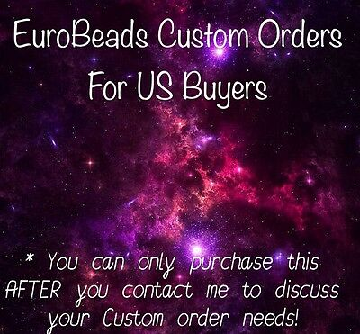 CUSTOM ORDER USA_Bulk Wholesale Set Lot Handcrafted_Bead Charm European bracelet
