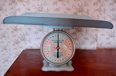 American Family Baby Nursery Scale Vintage 1960s 30# Very Rare Collectible WOW