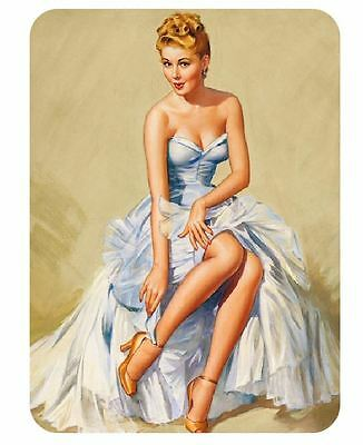 Vintage Style Pin Up Girl Sticker P61 Pinup Girl Sticker