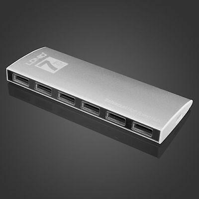 LDNIO Aluminum Alloy High Speed 7 Ports USB Hub MacBook Series Concise Style