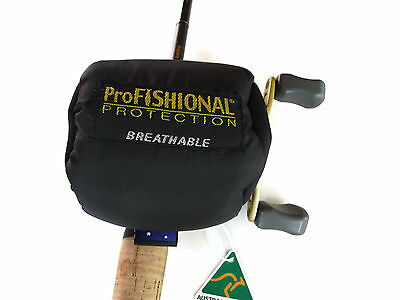 Overhead Fishing Reel Cover X-Small Bait-caster/Tear-drop -breathable