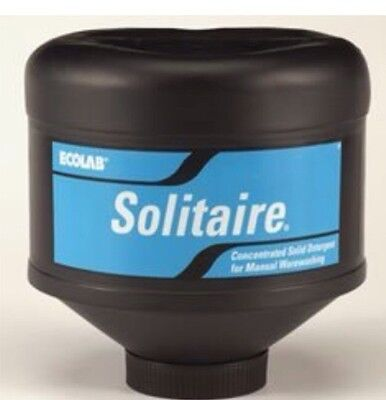 Ecolab 17301 Solitaire® Manual Pot and Pan Detergent, 5lb Capsule