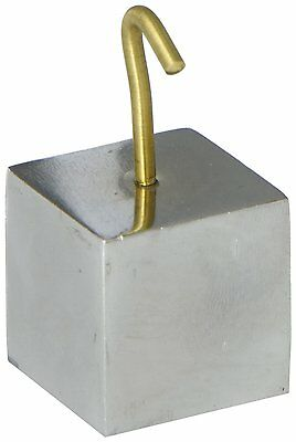 Ajax Scientific Iron Material Hooked Cube Shaped 32 millimeters Size
