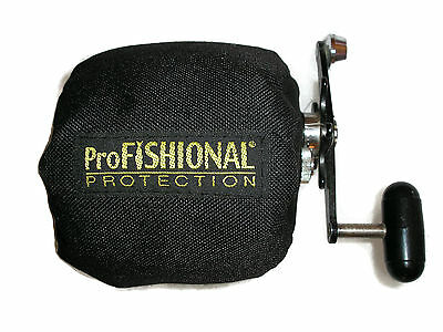 Overhead Fishing Reel Cover X-Small Bait-caster/Tear-drop -padded