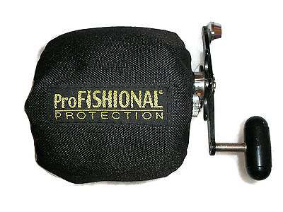 Overhead Fishing Reel Cover Small Size - padded - Made in Australia -