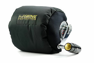 Overhead Fishing Reel Cover Large - breathable Material- Made in Australia -