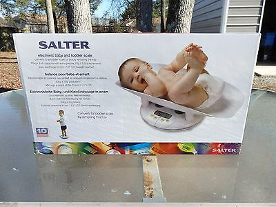"""Salter  # 914  Electronic  Baby  / Toddler Or """" Pets """" Portable Digital Scale"""