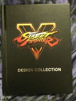 STREET FIGHTER DESIGN COLLECTION BOOK great condition see photos