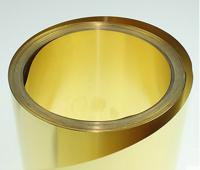 H59 Yellow Copper Foil/Sheet Brass Metal Plate Metalworking 0.03mm*100mm*1000mm