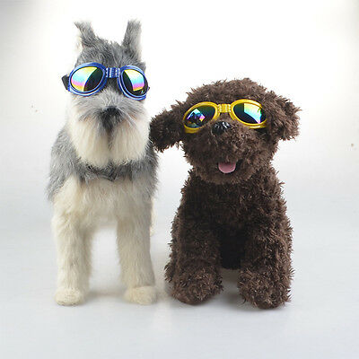 High Quality Foldable Dog Sunglasses Protection Eyes with Clorful Lens