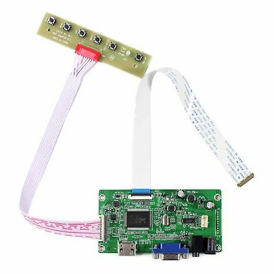 HDMI VGA LCD driver board work for 11.6 13.3 14 15.6 17.3inch 1920x1080 EDP LCD