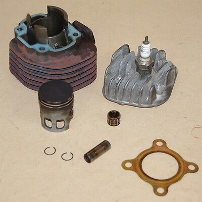 Used Cylinder Head, Barrel and Piston For a VMoto Monza 50cc Scooter