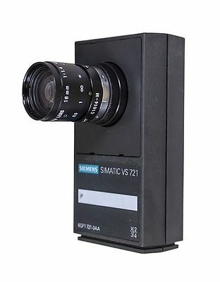 Siemens Simatic Vs 721 1P 6Gf1721-0Aa + Pentax Tv Lens 16Mm 1:1.4 Camera
