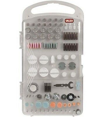 Kit 160 Accessori Frese Punte Mini Trapano Multiutensil Dremel Valex BlackDecker