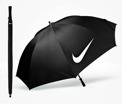 "NEW Nike 62"" Windproof VII Golf Umbrella - Black"