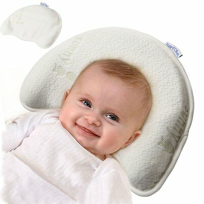 Iserlohn Soft Memory Foam Infant Pillow with a Replacement Pillowcase, Head Baby