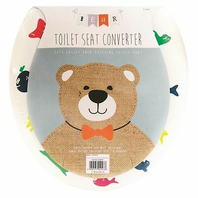 Padded Baby Toilet Seat To Potty Converter Infants Training Child Toddler