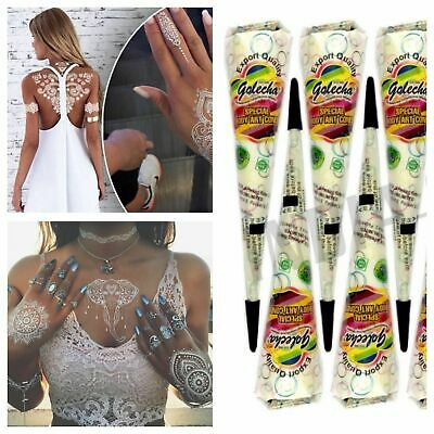 12 Dark Brown Kaveri Herbal Henna Mehndi Tattoo Cones 100% Natural Pure Paste