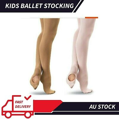 Oz Footed Convertible Ballet Dancing Tights Stockings  Pantyhose Children&adult