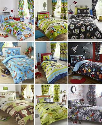 BOYS KIDS BEDDING Duvet sets childrens bedroom fun quilt cover bed sets