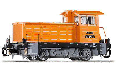 PIKO 47500 TT Gauge Diesel locomotive BR 102 -104-7 the DR, Ep.IV