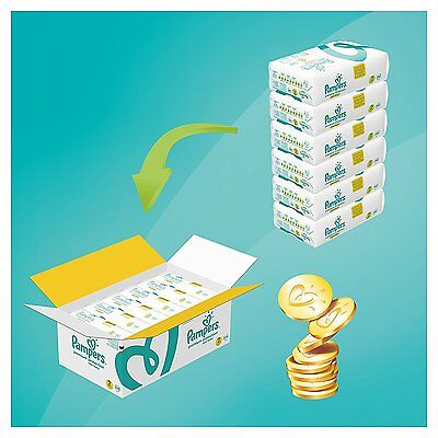 Pampers New Baby Premium Protection Nappies Monthly Pack Size 0,1,2 Saving Pack