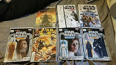 Star Wars 2015 #1 + Variant Collection