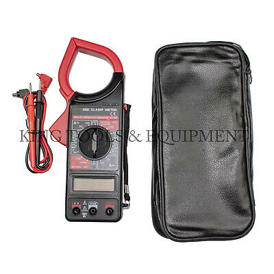 King DIGITAL CLAMP METER Volt Ohm AC DC Amp Current Insulation Multi-mete Tester
