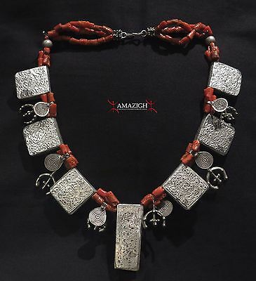 Old Berber Necklace - Ida Ou Semlal – Western Anti Atlas Mountains, Morocco